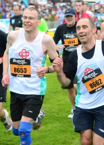 Will Dyson and John Gray, Great North Run 2013